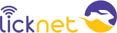 Logotipo Licknet Telecom